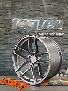 """Z PERFORMANCE FLOW FORGED 19"""" ALLOY WHEELS CONCAVE NOT VOSSEN"""