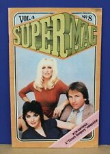 Supermag Magazine Vol 4 #8 1980 w Threes Company Miniposter centerfold
