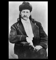 Wild Bill Hickok PHOTO Deadwood Gunfighter Sheriff  Marshal WILD WEST Law Man