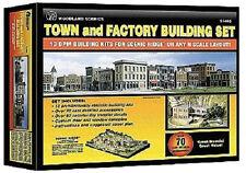 ESCALA N Kit Construcción Set mit 12 casas y 1 FÁBRICA - 1485 NEU