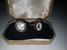 reweriana Mens Accessories Vintage Cufflinks Enamelled Theakston