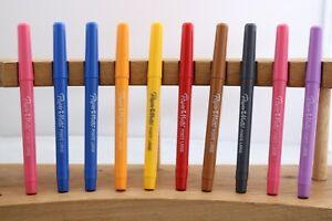 New Paper Mate Point Large Felt Tip Pens x 10