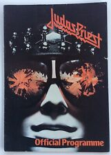 JUDAS PRIEST Hell Bent for Leather TOUR BOOK PROGRAM 1979