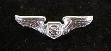 US AIR FORCE AIR BATTLE MANAGER MINI BADGE WING PIN MILLITARY AFB PLANES UNIFORM