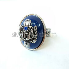 Damon Salvatore RING LAPIS LAZULI The Vampire Diaries Anillo Anneau cosplay new