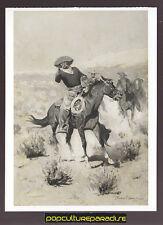 FREDERIC REMINGTON Days on the Range (1902) ART ARTWORK PAINTING POSTCARD