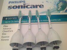 Philips Sonicare Toothbrush e Series Replacement Brush Heads - 4 Pack OEM