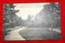 MEYSIEUX ISERE ETABLISSEMENT MEDICAL UN COIN DU PAVILLON DES MESSIEURS 1915