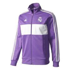 adidas Real Madrid 2016 - 2017 LU Soccer Jacket Purple / White Brand New
