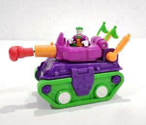 Imaginext Joker Tank Figure Projectile Batman DC Super Friends Fisher-Price Set