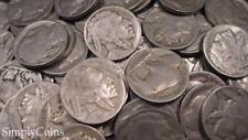 (100) Indian Head Buffalo Nickel Coin Lot ~ PARTIAL DATES ~ Mixed US Set
