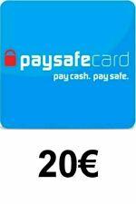 Paysafe Code 20 EURO Gutschein Guthaben Ladebon Voucher (Versand elektronisch) .