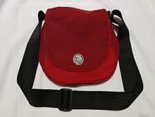 Crumpler AG-014 Cross body travel Shoulder Bag - Red/Dark Red.