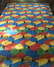 Lego Bright And Colorful Kids Reversible Twin Quilted Comforter Vintage