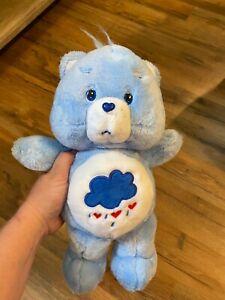2002 RARE HTF Grumpy Bear Plush Care Bear. Excellent Condition!