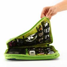 Plus Size  Double Layer Travel Storage Bag Electronic Accessories Organizer HX