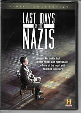 History LAST DAYS OF THE NAZIS Documentary , 2 Disc Set, USED DVD