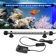 18/28/38/48cm Aquarium Submersible Fish Tank Lamp Lights LED SMD Light
