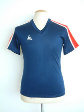LE COQ SPORTIF VINTAGE TOP..1970's..S..MADE IN ENGLAND..NEW OLD STOCK..WORLD CUP