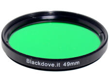 49mm. filtro Verde Blackdove-cameras. Diametro 49 mm.