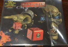 IRON MAIDEN Single Part 1 CD New Mint Rare The Angel And The Gambler Live Poster