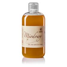 Natural Honey Body Wash Shower Gel with Linden Honey 300ml Korana