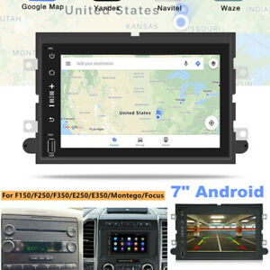 """7"""" Car Stereo Radio Fit for Ford F-150 F250 Android GPS Navi Wifi Mirror Link"""