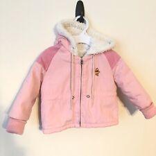 Winnie the Pooh Disney Vintage Toddler Girl Pink Winter Coat 12 months