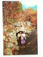 Vintage Postcard 1970s Goblins Underpass Rock City Gardens Lookout Mountain GA