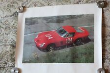Ferrari 250 GTO 1963 Targa Florio Henry Manney Photo Print Poster 16x20 Rare