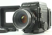 【EXC+5】  Mamiya RB67 Pro S Sekor C 127mm f3.8 120 filmback  from Japan #460