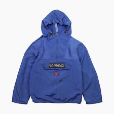 Napapijri Kids Lightweight Hooded Packable Rainforest Jacket Age 12 Years Blue