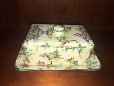 Royal Winton Grimwades - Chintz 'Pelham' Covered Butter Dish.