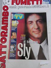Tv Sorrisi e Canzoni n.29 Sylvester Stallone anno 2001 - Mondadori Ottimo