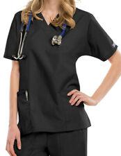 -35% + 0€🚚 EN 24H✅Cherokee SCRUBS ✅Blouse ✅Noir Profession MÉDICAL WorkWear