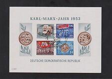 Briefmarken der DDR (1949-1954) mit Sonderstempel