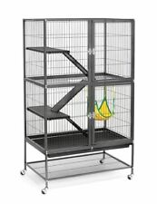 New listing Large Ferret Cage Chinchilla Rabbit Hamster Guinea Pig Rat House Metal Habitat
