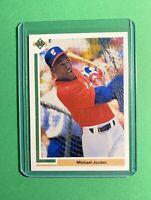 1991 Upper Deck MICHAEL JORDAN Baseball Rookie Card #SP1 RC Chicago White Sox
