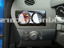 Vauxhall Astra H MK5 Air Vent twin Gauge Pod adapter LHD Gloss black plastic