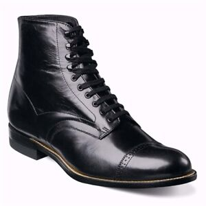 Stacy Adams Madison Black Leather Dress Boots (13-D)