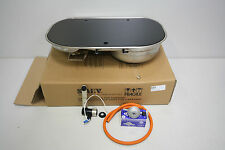 Smev 8322 VW T5 Campervan Double Hob & Sink, Tap, Regulator, Gas Hose.