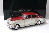 1:18 Minichamps Bentley S2 beige -silver/ red 1960 NEW bei PREMIUM-MODELCARS