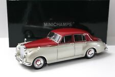 1:18 Minichamps Bentley S2 beige -silver/ red 1960 NEW bei PREMIUM-MODELCARS