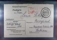 Camp Oflag 65 Strassburg 1944 POW Prisoner of War Kriegsgefangenenpost K3