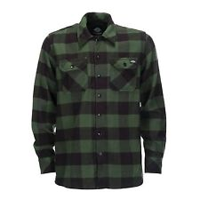 Dickies - Camicia a Sacramento Pino Verde Holzfeller Quadri Uomo 3xl