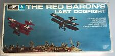 MPC Diorama 1/72 Model Kit   RED BARON'S LAST DOGFIGHT - Sealed Vintage Kit