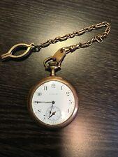 Antique ELGIN National Watch Co Pocket Watch 1912 Running