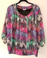 Ladies size 18 Colourful Top
