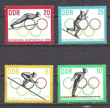 GERMANY , DDR , 1964 OLYMPICS , SPORTS ,SET OF 4 PERF, vlH