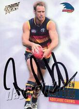 ✺Signed✺ 2013 ADELAIDE CROWS AFL Card BEN RUTTEN